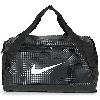 Borse Borse da sport Nike BRASILIA SMALL Nero / Bianco