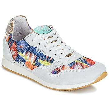 Scarpe Donna Sneakers basse Ippon Vintage RUN-SEVENTY Bianco / Multicolore / Oro
