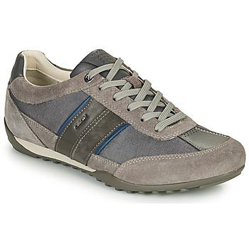 Scarpe Uomo Sneakers basse Geox U WELLS C Grigio