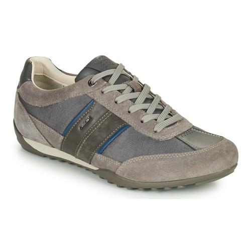 Geox U WELLS C Grigio  Scarpe Sneakers basse Uomo 70