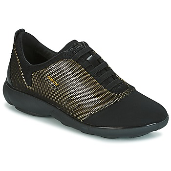 Scarpe Donna Sneakers basse Geox D NEBULA C Oro / Nero