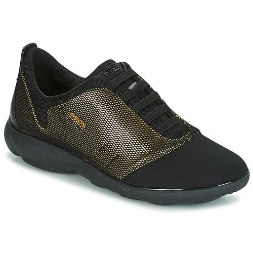 Geox D NEBULA C Oro / Nero  Scarpe Sneakers basse Donna 104