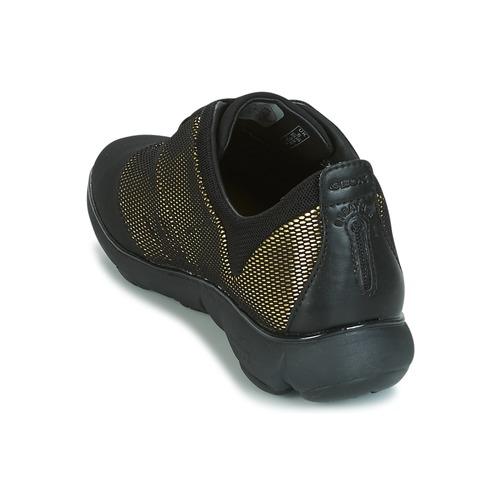 D Geox Scarpe Sneakers OroNero Consegna Donna C Basse Nebula 7800 Gratuita 9WDHY2EI