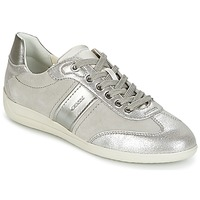 Scarpe Donna Sneakers basse Geox D MYRIA A Grigio / Argento