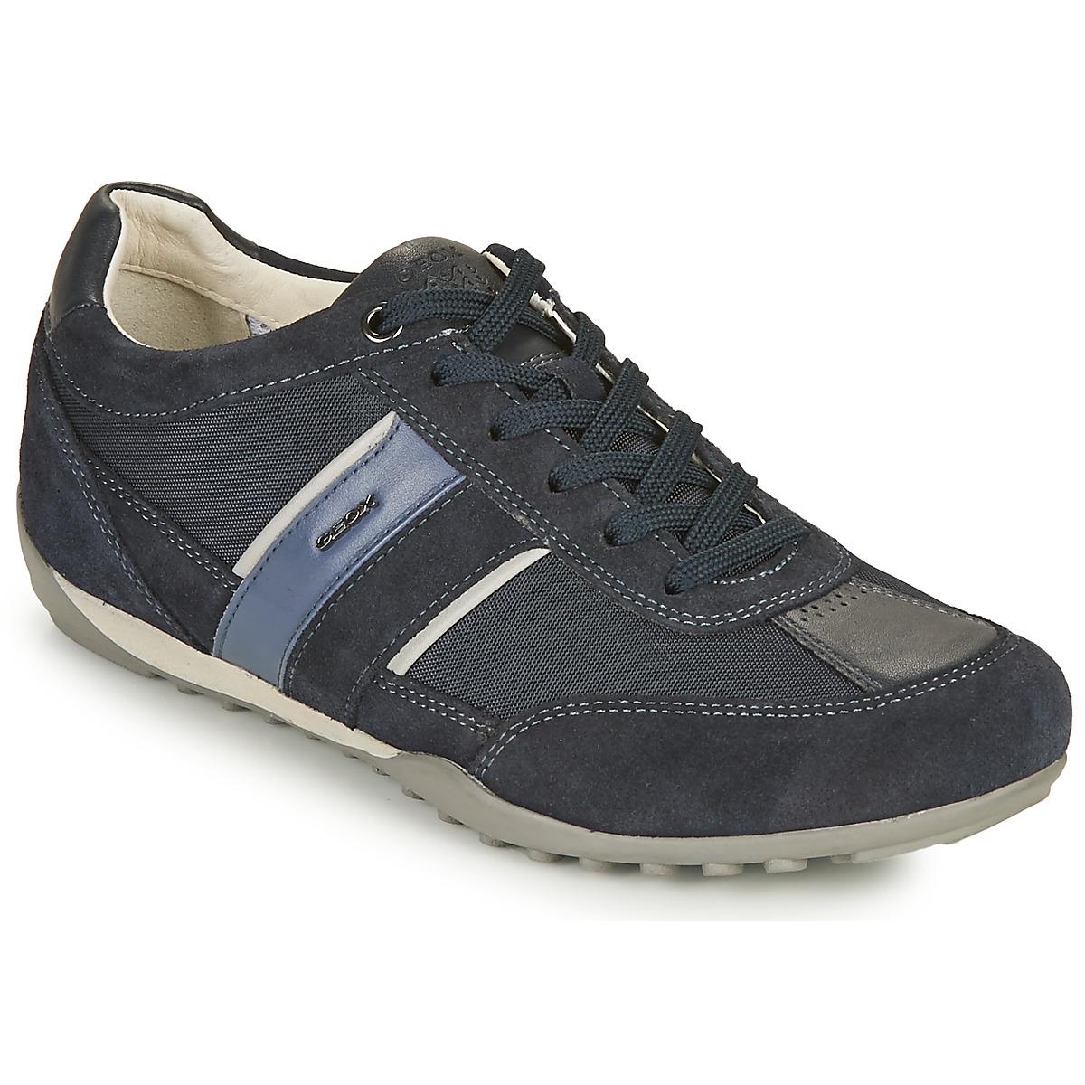 Precipicio pasado viuda  Geox U WELLS C Blu - Consegna gratuita | Spartoo.it ! - Scarpe Sneakers  basse Uomo 129,99 €