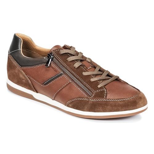 Sneakers Scarpe uomo Geox U RENAN C Marrone Cuoio 6819401