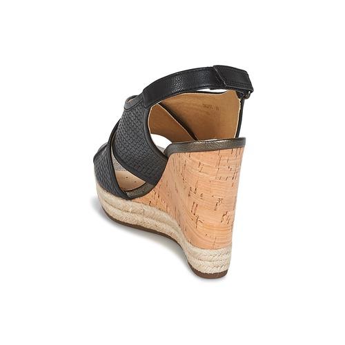 Geox JANIRA C Nero - Scarpe Sandali Donna 10984