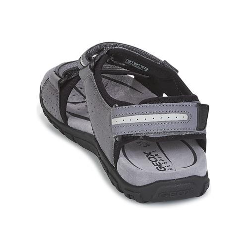 4900 D Sandali Geox S strada Grigio Gratuita Consegna Uomo Scarpe D9IeEYHW2