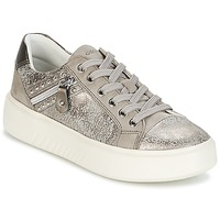 Scarpe Donna Sneakers basse Geox D NHENBUS F Taupe / Grigio