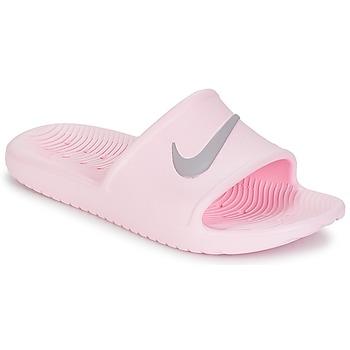 Scarpe Donna ciabatte Nike KAWA SHOWER SANDAL W Rosa / Grigio