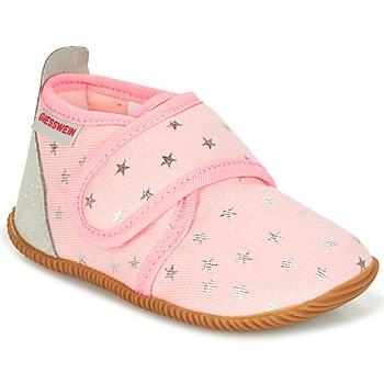 Scarpe Bambina Pantofole Giesswein SALSACH Rosa