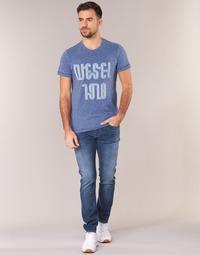 Abbigliamento Uomo Jeans slim Diesel TEPPHAR Blu