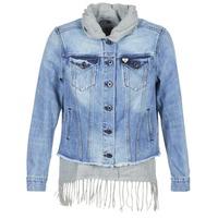 Abbigliamento Donna Giacche in jeans Maison Scotch XAOUDE Blu / Clair / Grigio