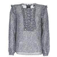 Abbigliamento Donna Top / Blusa Maison Scotch OLZAKD Nero / Bianco