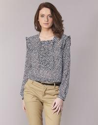 Abbigliamento Donna Top / Blusa Scotch & Soda OLZAKD Nero / Bianco