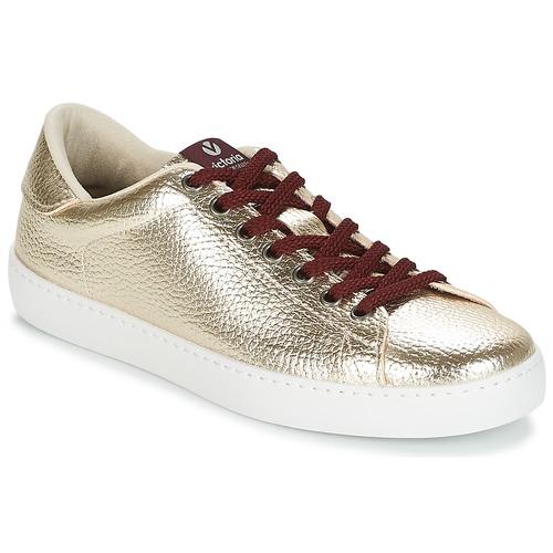 Victoria DEPORTIVO METALIZADO Oro  Scarpe Sneakers basse Donna 41,40
