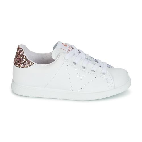 Victoria Basse Consegna Scarpe Kid Bianco Sneakers Piel Gratuita Bambino Deportivo 4440 Basket Onw0Pk