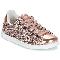Scarpe Bambina Sneakers basse Victoria DEPORTIVO GLITTER KID Rosa