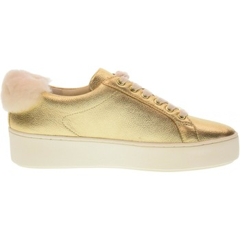 Scarpe Donna Sneakers basse MICHAEL Michael Kors scarpe donna sneakers piattaforma 43F7POFS1M POPPY LACE UP ORO Pelle