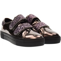 Scarpe Donna Sneakers basse B3D Shoes scarpe donna sneakers piattaforma 41386 PIOMBO SPECCHIATO Piombo specchiato