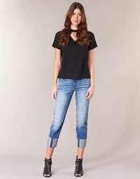 Abbigliamento Donna Jeans 3/4 & 7/8 G-Star Raw LANC 3D HIGH STRAIGHT Blu