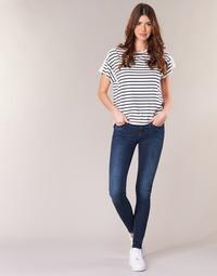 Abbigliamento Donna Jeans skynny G-Star Raw MIDGE ZIP MID SKINNY Blu