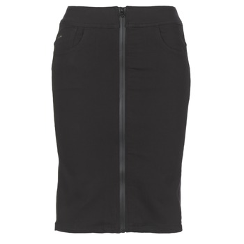 Abbigliamento Donna Gonne G-Star Raw LYNN LUNAR HIGH SLIM SKIRT Nero