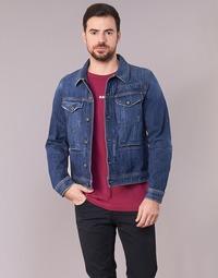 Abbigliamento Uomo Giacche in jeans G-Star Raw D-STAQ 3D DC S JKT Medium / Vintage