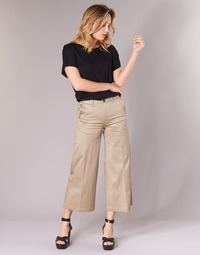 Abbigliamento Donna Chino G-Star Raw BRONSON HIGH LOOSE CHINO 7/8 WMN Beige