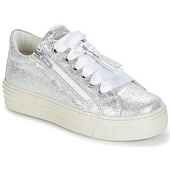 Scarpe Bambina Sneakers basse Primigi RAPATITE Argento