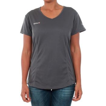 Abbigliamento Donna T-shirt maniche corte Izas ADAIA DARK GREY Gris oscuro