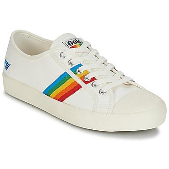 Scarpe Donna Sneakers basse Gola COASTER RAINBOW Bianco