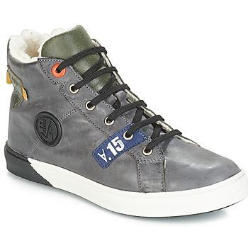 Scarpe Bambino Sneakers alte GBB SILVIO Grigio