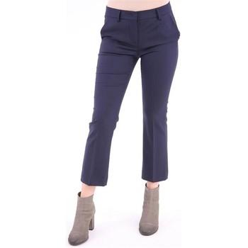 Abbigliamento Donna Chino White.7 PANTALONE   MODELLO CAPRI BLU Blue
