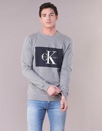Abbigliamento Uomo Felpe Calvin Klein Jeans HOTORO REGULAR Grigio