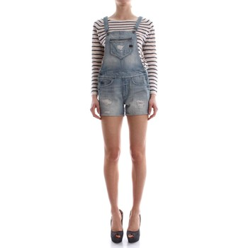 Abbigliamento Donna Jeans 3/4 & 7/8 G-Star Raw D04737 8857 MIDGE OVERALL SALOPETTE Donna LIGHT AGED LIGHT AGED