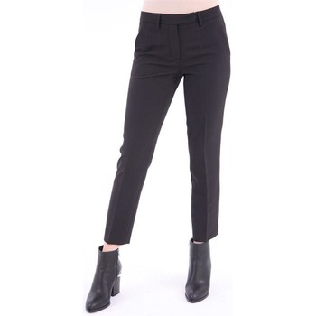 Abbigliamento Donna Chino White.7 PANTALONE   MODELLO CAPRI NERO Black