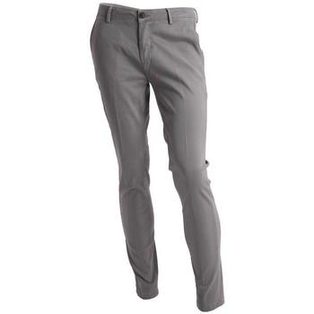 Abbigliamento Uomo Chino Yan Simmon PANTALONI GRIGI Grey