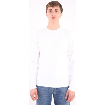 Abbigliamento Uomo T-shirts a maniche lunghe Aspesi T-SHIRT BASIC  IN COTONE BIANCO White