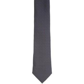 Abbigliamento Uomo Cravatte e accessori Armani CRAVATTA BLU CON ROMBI NERI Blue