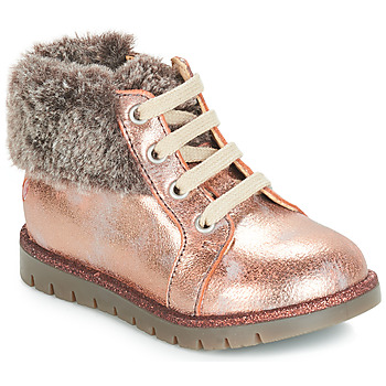 Scarpe Bambina Sneakers alte GBB RENATA Rosa