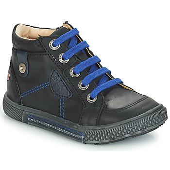 Scarpe Bambino Sneakers alte GBB RAYMOND Nero