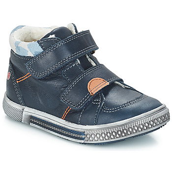 Scarpe Bambino Sneakers alte GBB ROBERT Blu