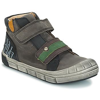 Scarpe Bambino Sneakers alte GBB REMI Grigio