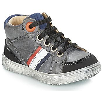 Scarpe Bambino Sneakers alte GBB ANGELITO Grigio