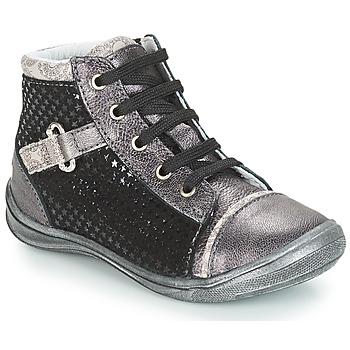 Scarpe Bambina Sneakers alte GBB ROMIE Nero / Grigio