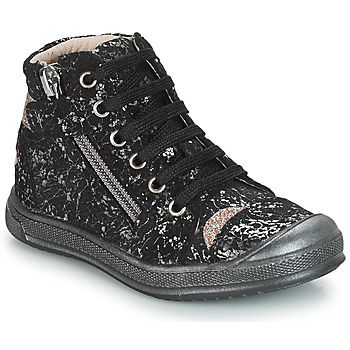 Scarpe Bambina Sneakers alte GBB DESTINY Nero