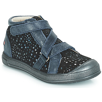 Scarpe Bambina Sneakers alte GBB NADEGE Blu / Nero