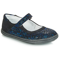 Scarpe Bambina Ballerine GBB PLACIDA Blu / Nero