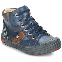Scarpe Bambino Sneakers alte GBB RENZO Blu
